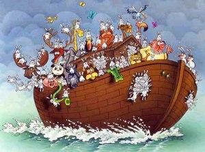 arca lui Noe mitologia iudaica crestina